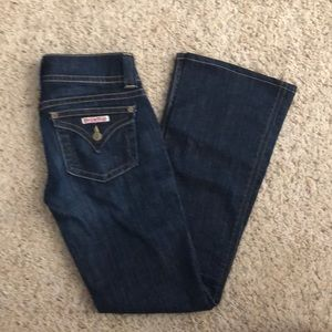 New Hudson bootcut flare jeans 25 dark wash
